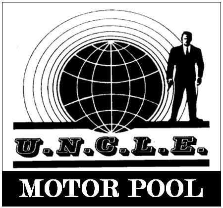 Man From UNCLE Decal